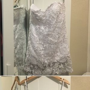 lace wedding dress size xl joy vany short dress